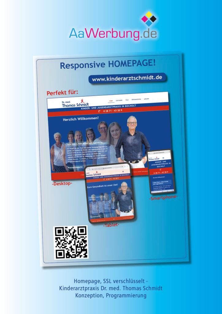 AaWerbung.de, Bocholt, Werbung, Werbetechnik, Referenz Homepage