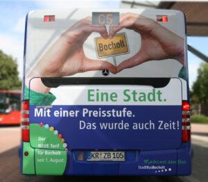 AaWerbung.de, Bocholt, Werbung, Werbetechnik, Referenz Stadtbus Bocholt